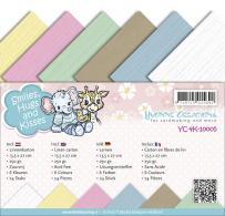 Linnenpakket - 4K- Yvonne Creations - Smiles, Hugs and Kisses - #138340